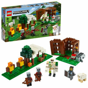 LEGO 21159 Minecraft The Pillager Outpost New & Sealed FREE POST