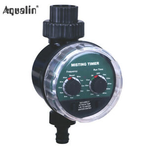 Misting Timer Ball Valve Watering Timer Automatic Garden Electronic Controller