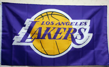 Los Angeles Lakers Flag 3X5 FT NBA Banner Polyester FAST SHIPPING!!!
