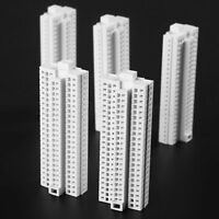 5Pcs 1:500 HO Scale Modern Tall Building For Outland Model Train Railway layout