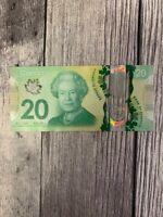 Canada 20 Dollar Bill / Note, 2015, Commemorative Queen's Historic Reign Polymer