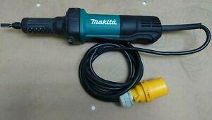Makita GD0600 Straight Die Grinder 6mm Collet 400W - 110V