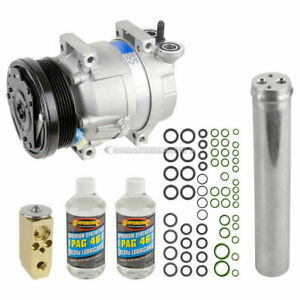 For Chevy Aveo 2004 2005 2006 2007 2008 AC Compressor & A/C Kit DAC