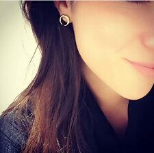 Boho Women Punk Simple Geometric Circle Ear Stud Earrings Fashion Designs