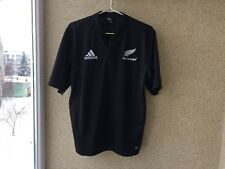 New Zealand All Blacks Home Rugby Union Shirt 2005/2007 Jersey L Adidas