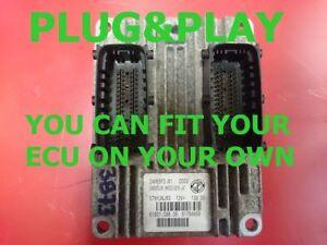 Plug&Play / VIRGIN GRANDE PUNTO 1.2 8V ECU 51784956 - IAW5SF3.M1 - FAST COURIER