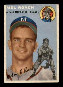 1954 Topps Set Break # 181 Mel Roach VG *OBGcards*