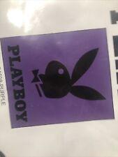 """New Black Purple Zebra Playboy Tuxedo Bunny Mink Blanket Queen Comforter 79""""x94"""""""