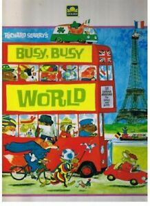 Richard Scarry's Busy, Busy World by Scarry, Richard Book The Cheap Fast Free