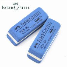 8-pack Faber Castell Natural Rubber Ink/Pen Sand Eraser 7016-80 Set For Marker