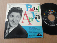 "DISQUE 45T DE PAUL ANKA  "" JUST YOUNG """