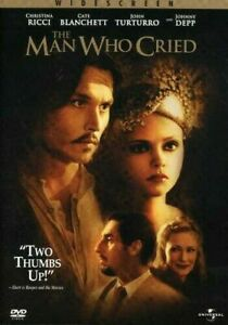THE MAN WHO CRIED DVD JOHNNY DEPP - CATE BLANCHETT Movie - WIDESCREEN