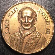 Vatican - Léon XIII - médaille du souvenir de la prêtrise - 1887