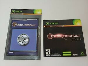 MechAssault (Microsoft Xbox) Promo Not for Resale Full Copy Of The Game W/Manual