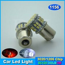 1 x White Car 1156 382 Tail Turn Signal 50 SMD LED Bulb Lamp Light BA15S P21W