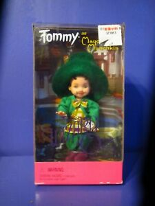 New in Box Vintage The Wizard Of Oz Barbie Tommy As Munchkin Mayor Mattel 1999