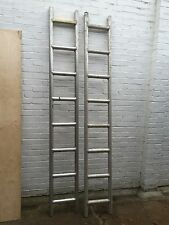 2 x 8  foot aluminium ladder beams