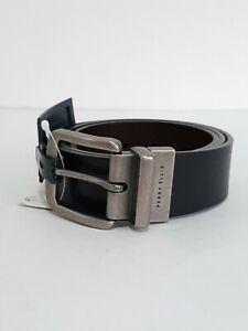 Perry Ellis Portfolio Men's Black/Brown Reversible Belt Sz 32