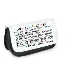Personalised Friends TV Show Make up Bag Pencil Case Glasses Birthday Lobster