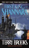 FIRST KING OF SHANNARA Terry Brooks FREE SHIPPING paperback book Shanara sword