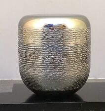 Contemporary Japanese Sterling Silver Natsume - Box