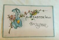 * Early Easter Postcard AN EASTER WISH