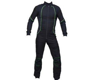 Latest Design Skydiving suit / Hot Selling Suit Green and Black