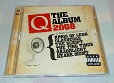 Q THE ALBUM 2008 - 42 TRACK ( INDIE ROCK ) 2 X CD COMPILATION - NEW OASIS ETC...
