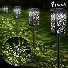 Solar Lights Outdoor Upgraded Solar Pathway Garden Lights Super Bright 20 lumens