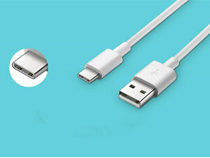 3 FT White USB Sync Charge Fast Charger Type C Cable Cord for Zte Zmax Pro Z981