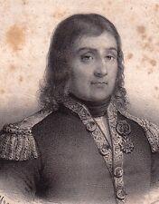 Portrait XIXe Jacques Cassard Nantes Loire-Atlantique Marine Royale Corsaire