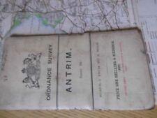Antique European Maps & Atlases Ireland Antrim