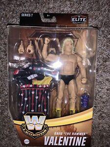 "Mattel WWE Legends Elite Collection Greg ""The Hammer"" Valentine Action Figure"