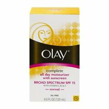 Olay Complete All Day Moisturizer with Sunscreen Normal Skin, 4 oz, 2 Pack