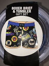 Batman Tumbler And Boxers Size Adult Small