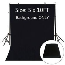 Black Photography Photo Video Studio Non-Woven Fabric Background Screen