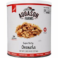 Augason Farms Super Nutty Granola Emergency Disaster Survival Food Meal Dried RV