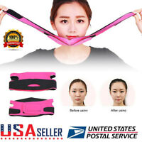US V-Line Face Slim Lift Up Mask Chin Cheek Slimming Strap Belt Anti-Aging Band