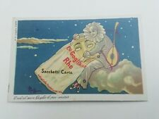 Cartolina Pubblicitaria Sacchetti Carta Goglio Rho Milano Serie Pierot 4