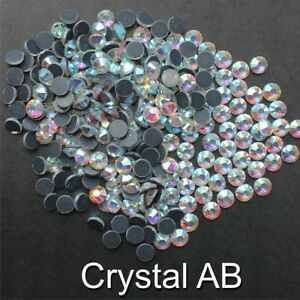 TSS DMC Glass Hot Fix Flat Back Iron on Rhinestone/Diamante Craft Beads From 99p