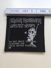 Iron Maiden - Wasted Years Aufnäher / Patch (Vintage, Metal Sammlung, Rarität)
