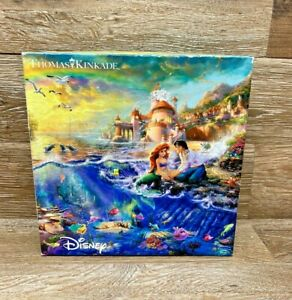 Thomas Kinkade Disney Ceaco The LITTLE MERMAID Puzzle 750 Piece