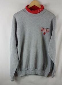 Chicago Bulls Vintage Sweatshirt XL Extra Large 90s Vtg Sweater Cadre Athletic
