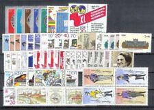 DDR Jahrgang 1986 , postfrisch , Auswahl aus Michel Nr. 2993 - 3062