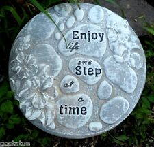 """enjoy life stepping stone mold 10"""" x  over 1"""" thick"""