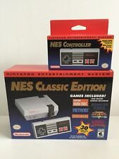 Nes Classic Edition Mini System Console! Plus Extra Controller! Never Opened Up!