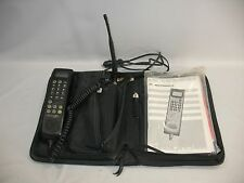 Motorola Cellularone Cellular Car Cell Bag Phone SCN2523A w/ Charger Adapter