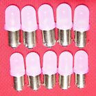 Pinball LED #44 #47 Pink Frosted Dome 6.3V Original Bulb shape (10 pack)