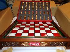 Franklin Mint Scacchiera Coca Cola, Coke chess set