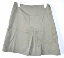 Country Road Above Knee Cotton Skirts for Women